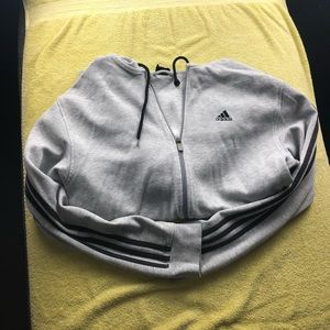 Adidas zip up hoodie for men